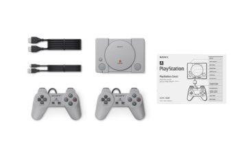 Sony kündigt PlayStation-Classic-Mini-Konsole mit 20 vorinstallierten Titeln an