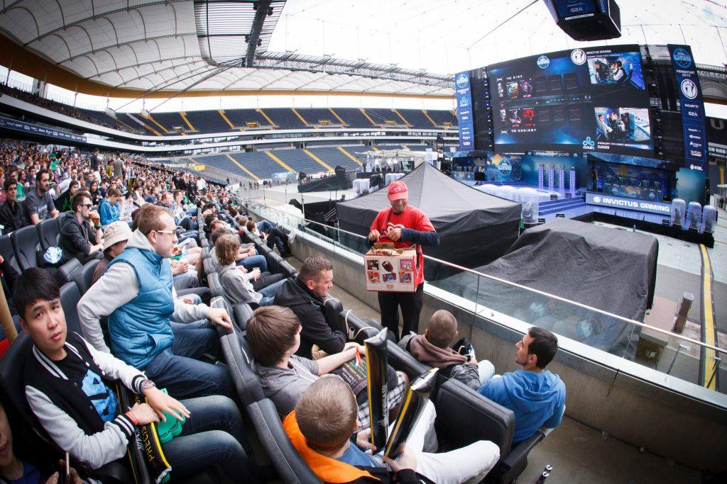 ESL One Frankfurt 2015 - Der Blick von den Premiumplätzen