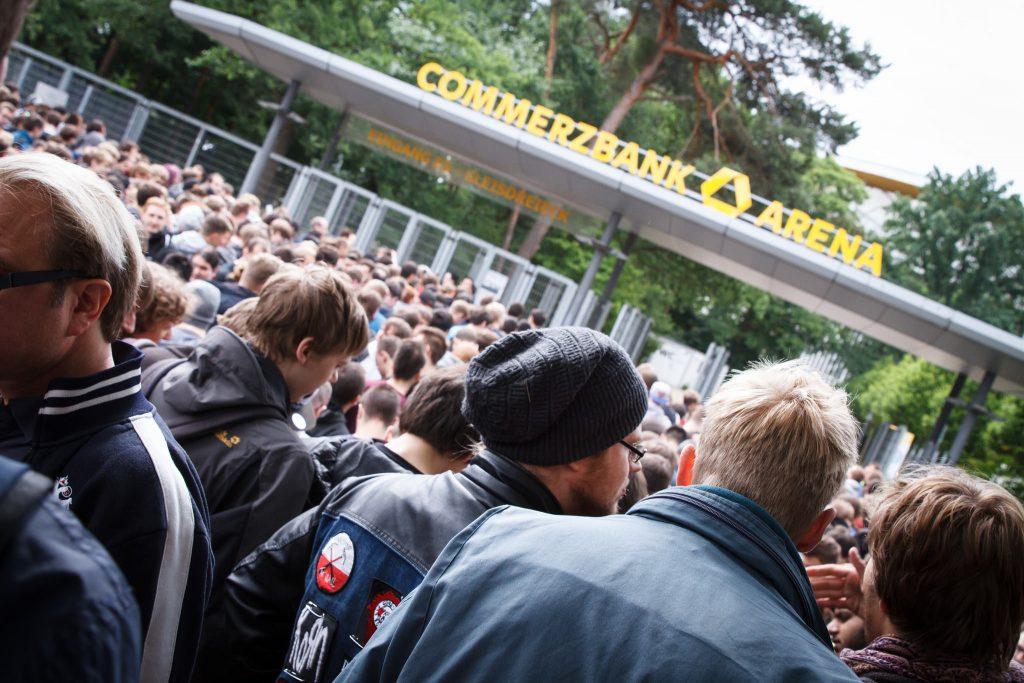 ESL One Frankfurt 2015 - Vor den Toren der Commerzbankarena